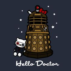 HELLO DOCTOR 10 T-Shirt $12.99 Doctor Who tee at Pop Up Tee!