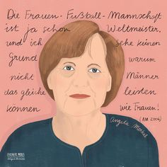 """Esther Mols 🖍 Illustrator op Instagram: """"Good news, i am drawing again! 😊 here is Angie the @bundeskanzlerin of Germany. I drew her this week and today i saw that it is her…"""" I Saw, Good News, Famous People, Illustrator, Germany, Portraits, Drawings, Movies, Movie Posters"""