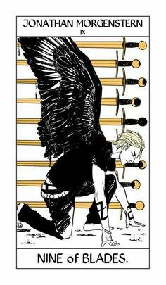 Jonathan Morgenstern / Sebastian The Mortal Instruments Tarot Card