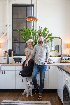 Scott & Kristan's Inspiring Arts District Loft favorite home tour ever