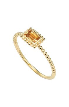 LAGOS+'Covet'+Baguette+Stone+Caviar+Stack+Ring+available+at+#Nordstrom