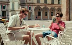 Elio, Oliver, Oliver, Elio. These two young men are so in tune, even their names laid side by side turn into music. Oliver (Armie Hammer) is a mid-20s academic on an Italian field trip. Elio (Timothée...