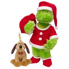 Best Buddies The Grinch & Mini Max the Dog... Build A Bear $47   Make a day out of it! Build the Grinch, go home, make a nice dinner and dessert, watch both versions of the Grinch with the kids!