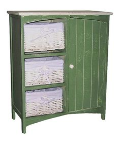 Another great find on #zulily! Green Cabinet #zulilyfinds