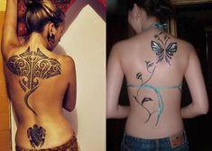 Pferd Rücken Tattoo