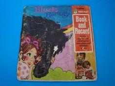 Black-Beauty-Peter-Pan-Read-Along-Book-with-Album-45-RPM-Vintage