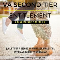 In the most basic of terms, VA Second-Tier Entitlement gives a qualified military person the ability to have two VA mortgages out simultaneously. https://www.madisonmortgageguys.com/va-second-tier-entitlement/ #RealEstate #MortgageUpdated