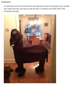 This costume that you should definitely try. | Community Post: 17 Tumblr Posts About Halloween That'll Make You Excited AF