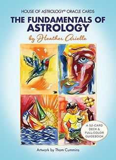 Transform your life with this groundbreaking, one-of-a-kind oracle deck and Guidebook! Learn astrology while getting accurate and precise readings. Boxed Kit x Includes Deck inspirational messages) and full-color Guidebook. Astrology Books, Learn Astrology, Deck Of Cards, Card Deck, Cancer Sign, Transform Your Life, Oracle Cards, Card Reading, Ariel