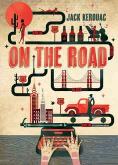 On the Road tribute by Cartographik (Alexandre Verhille).