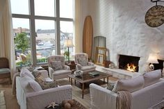 painting a stone fireplace ideas   ... the lava rock giving the fireplace the look of old stone and plaster