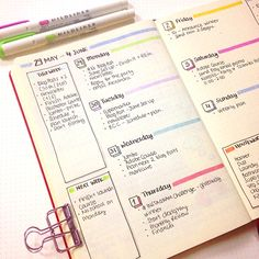 Bullet Journal - My June Set Up — christina77star | Plan your Life. Achieve your Goals.