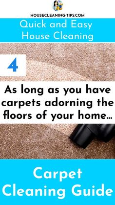 The Carpet Cleaning Guide: Discover What It Takes To Keep Your Carpet Looking Good #carpetcleaning #carpetcleaningtips #vacuumcleaners Cleaning Recipes, Diy Cleaning Products, Cleaning Hacks, Steam Clean Carpet, How To Clean Carpet, Steam Cleaning, Clean House, Household, Upholstery Cleaning