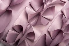 Garrick Cushion detail - pretty fabric manipulation to create interest and 3D detailing - textiles techniques