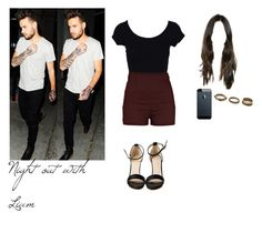 """""""Night out with Liam!"""" by directioner-dxi ❤ liked on Polyvore featuring art"""