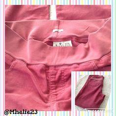 duo mt/ml maternity Pink cord pants really nice pants medium tall long Pants
