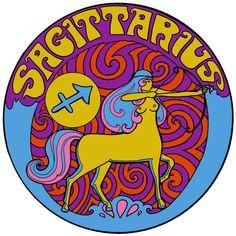 Sagittarius T Shirt. Zodiac Art, Astrology Zodiac, Zodiac Signs, Sagittarius Zodiac, Rock Posters, Film Posters, Sagittarius Birthday, Poster Art, Hippie Art
