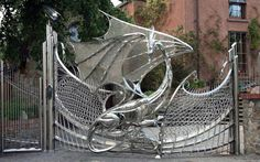 A dragon gate in Paris. Isn't this beautiful? I gathered it for inspiration for my paranormal romance, PARISIAN AMOUR, now available where all books are sold.