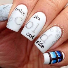Winter Nails Designs 2015 (4)