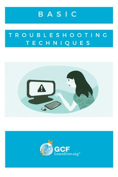Stuck with a frozen screen, a slow-moving app, or a printer that won't print? Don't worry! Use these basic troubleshooting techniques to get it up and running again.