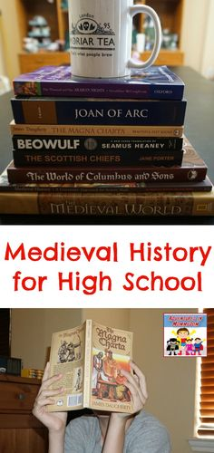 Read both primary sources and classic living books with Beautiful Feet books Medieval history. Treachery, Bravery, True Love, and more. living books medieval history for high school History Education, History Teachers, Teaching History, Teaching Tips, History Classroom, Education College, Education Quotes, High School Curriculum, Homeschool Curriculum Reviews