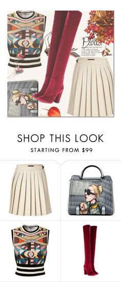 """""""I Love Paris In The Fall"""" by nonniekiss ❤ liked on Polyvore featuring Mulberry, Givenchy and Aquazzura"""
