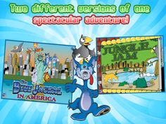 Part adventure and part history lesson, The Blue Jackal in America is a fabulous, interactive kid's story for young children. It is a colorful adventure jam packed with fun interaction and amusing animations.