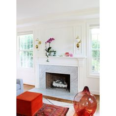 Fireplace Accent Walls, Fireplace Lighting, Shiplap Fireplace, Fireplace Remodel, Living Room With Fireplace, Fireplace Surrounds, Fireplace Design, Fireplace Mantels, Fireplaces