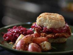 Get Jeff Mauro's Schnitzel Biscuits Recipe from Food Network