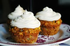 SaltTree: Individual Carrot Cakes