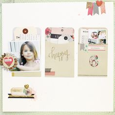 #papercrafting #scrapbook #layout   6 by stephaniebryan at @studio_calico