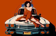 Ghostbusters' Dana Barrett (Zuul) by Erica Henderson (p.s Erica you did not fail in life x)