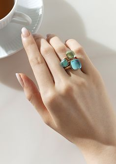 【ELLE】「ポメラート」のリングで彩る指先のストーリー | エル・オンライン