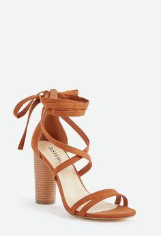 9873fa9b0eec1d JustFab  shoes  shopping  heels  fashion  affiliate Comfy Heels