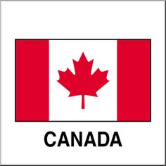 Geography for Kids: Clip Art: Flags: Canada Color - flags illustration Canada For Kids, O Canada, Geography For Kids, World Geography, Country Report, Social Projects, Canada Images, Canadian History, Teaching Social Studies