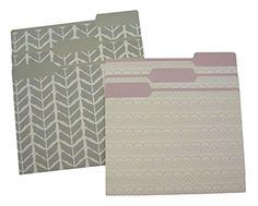Purple and Gray Decorative File Folders (Set of 6) DiVOGA https://www.amazon.com/dp/B00ZSF5CWS/ref=cm_sw_r_pi_dp_x_EKrLybSX24DPT