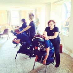 Chair massage is a great idea for employee appreciation day !
