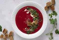 Rødbedesuppe med masser af smag – opskrift suppe rødbede Palak Paneer, Ethnic Recipes, Food, Eten, Meals, Diet