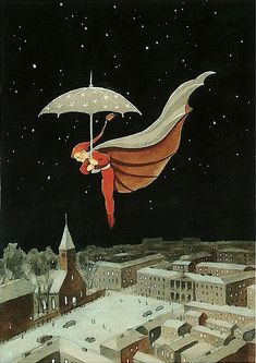 Rudolf Koivu illustration - Christmas