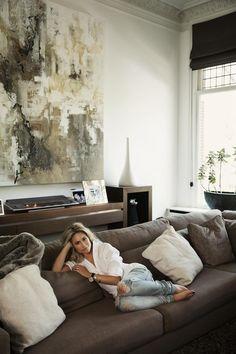 #InteriorGoals: Nikkie Plessens riante herenhuis aan het Amsterdamse Vondelpark - Vogue Nederland
