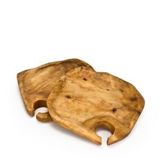 Root Wood Appetizer Plates  $28