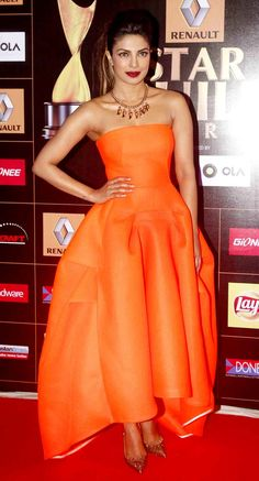 Priyanka Chopra at the Star Guild Awards 2015.