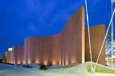 The United Arab Emirates Pavilion at the 2015 Milan Expo - Lighting design by DALD