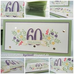 A Stampin' Up! Wedding Anniversary Cards, Wedding Cards, Card Making Inspiration, Making Ideas, 18th Birthday Cards, Bday Cards, 70th Birthday, Birthday Numbers, Letters And Numbers