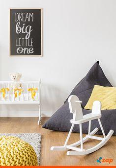 Que tal guiar-se pelo signo do bebê para decorar o quartinho do mais novo membro da família?! Clique na imagem e veja como o mês e dia de nascimento pode ajudar na hora de montar o cômodo.