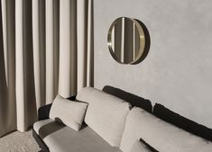 MENU SS18 | Septembre Sofa, Darkly Mirror in Brushed Brass