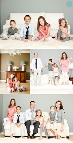 LOVE the coordinated but not matching family outfits. @Susan  Jordan