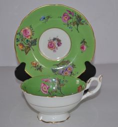 VINTAGE COALPORT ,ENGLAND CUP AND SAUCER