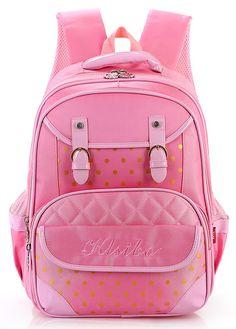 5c6ccb07095b Ropper Pink Cute Breathable Kid Girls  Backpack School Bag School Bags For  Kids