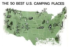 50 best camping sites in the U.S.